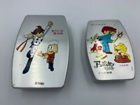 Aluminum lunch box Cyborg 009 TV animation Andersen story 2 pieces set