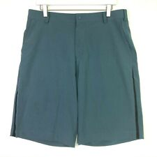 Nike golf summer tech shorts Armory slate blue black size 34