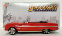 Brooklin 1/43 Scale BRK112  - 1963 Ford Falcon Futura Sports Convertible Red