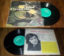 ANNE SYLVESTRE - Chante French LP 25CM Pop 1961 Philips