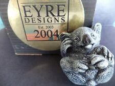 "1 7/8"" Signed Neil Eyre #13/50 2004 Edition Kylie Koala Bear Figurine Miniature"