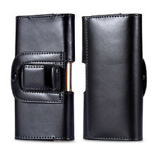For samsung galaxy S6 S5 S4 Holster Pouch Cover Belt Clip Leather case Phone Bag