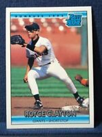 1992 Donruss Rated Rookie #397 Royce Clayton RC - San Francisco Giants NM
