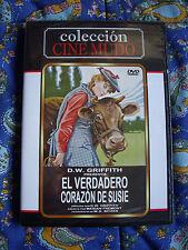 DVD - Cine Mudo - El verdadero Corazón de Susie - Nuevo Edicion España