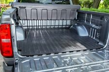 Rubber Truck BED MAT 2004- 2014 F-150 8' LONG BED BOX Black Liner Protector