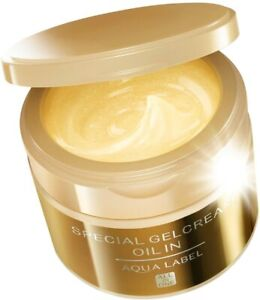 SHISEIDO AQUALABEL Special Gel Cream Aging Care ALL-IN-ONE type 90g Japan NEW