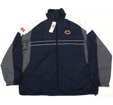 New Chicago Bears Windbreaker Nfl Team Jacket Sports Illustrated Si Xxl 2Xl