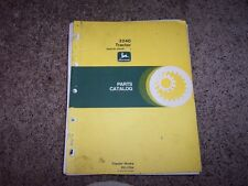 Jd John Deere 2240 Tractor Parts Catalog Manual Pc1764 Pc 1764