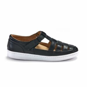 Orthaheel Scholl Orthotic Women's Razz Mary Jane Sneaker - Black