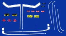 #1969 Camaro ZL Special Sport Stripes 1/24th - 1/25th Scale Decals