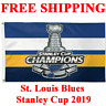 HOT HOT St. Louis Blues Stanley Cup Champions 2019 Flag Banner 3x5 ft Hockey NHL
