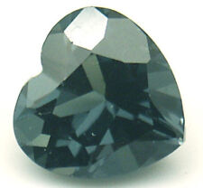 3.9 cts 10 mm Heart shape Green Lab Created Spinel
