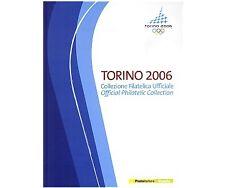ITALIA 2006 LIBRO FILATELICO UFFICIALE DELLE OLIMPIADI INVERNALI DI TORINO