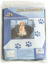 AUTO HUNDESCHONDECKE - AUTOSCHUTZDECKE für den Hund Rückbank Bezug Kofferraum