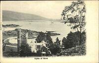 Kyles of Bute Schottland Scotland ~1900 Meeresstraße Schloss Castle Valentines