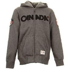 CANADA HBC OLYMPIC HOODIE SWEATER MEN'S SM GRAY EXTREMELY RARE!!