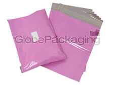 "50 x PINK 10x14"" Postal Postage Mailing Bags Sacks 10"" x 14"" *OFFER PRICE*"