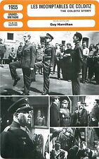 FICHE CINEMA FILM USA Les Indomptables de Colditz/The colditz story Guy Hamilton