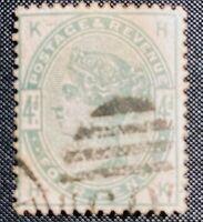 GREAT BRITAIN - SCOTT #103 - USED - F-VF     1884 Queen Victoria   CV $210.00
