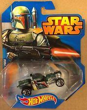Star Wars Hotwheels -- Boba Fett Car -- Die Cast, 2014