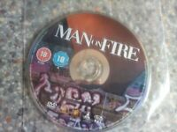 Dvd man on fire disc only (135)