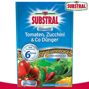 Substral 750 g Osmocote Tomaten, Zucchini & Co Dünger
