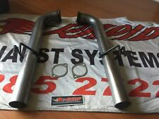VE - VF COMMODORE STAINLESS STEEL SPORTS PIPES  suit UTE