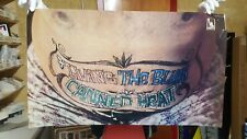 """Vintage CANNED HEAT """"Living the Blues"""" Poster 1960s RARE"""