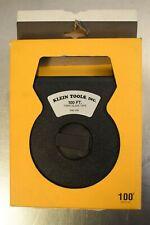Klein 946-100 100' Woven Fiberglass Tape w/ Case - New