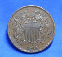 1864 Large Motto 2 Cent
