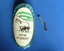 CLASSIC CANES NEW FOREST WALKING STICK BADGE