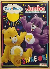 Care Bears Jumbo Coloring and Activity Book New Shine On! Free Shipping