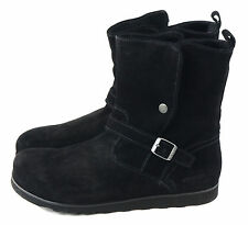 Birkenstock Women's Magdala Snow Boot Black Velours Size 42 EU 11 Narrow US