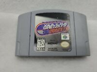 Wayne Gretzky's 3D Hockey ( Nintendo 64, 1996) Game Cartridge Only N64 N-64