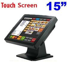 "Brand New 15"" Touch Screen LCD Monitor POS System Point of sale Touch Display"