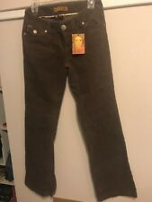 Empyre Jeans Courderoy Pants Stretch Brown Size 5 Womens