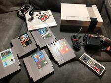 Nintendo NES Console And Advantage Joystick Controller MARIO BROTHERS POPEYE!!!!