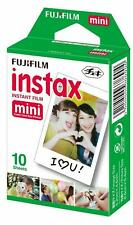 (10 Sheets ) Fuji Instax Mini Film for Fujifilm Mini 8 7 9 & Mini 90, 50 Cameras