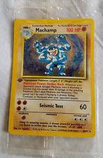 SEALED 1st edition MACHAMP Pokemon BASE Set 8/102