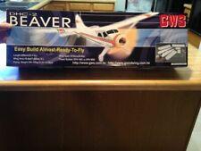 New R/C Gws Dhc-2 Beaver - Arf Kit Version With Motor
