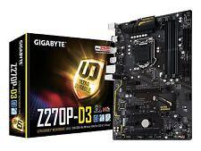 Gigabyte LGA1151 Motherboard Intel Z270 2-Way Crossfire ATX DDR4 GA-Z270P-D3