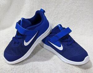 Nike Downshifter 9 (TDV) Royal Blue/White Toddler Boy's Shoes-Sz 6/7/8/9/10C NWB