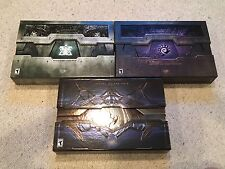 StarCraft 2 Collector's Edition Complete Lot: WoL, HotS, LotV