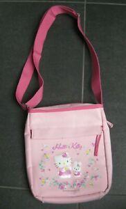 süße original Hello Kitty Tasche - rosa - Blumen - Umhängetasche