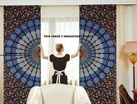 Hippie Curtain Indian Mandala Tapestry Wall Hanging Bohemian Valances Decor Art