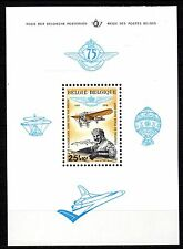 Belgium - 1976 75 years aviation club - Mi. Bl. 43 MNH