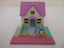 POLLY POCKET Playset - POLLYVILLE COZY COTTAGE - Bluebird Toys 1993