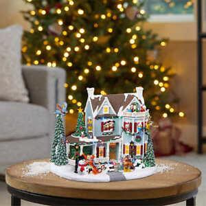 Disney Christmas Animated Holiday House w/ Lights & Music (120V) FAST SHIPPING