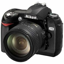 Excellent! Nikon D70 with 18-70mm f/3.5-4.5G - 1 year warranty