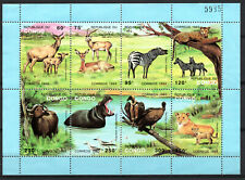 BLOC feuillet timbres CONGO BRAZZAVILLE 1993 n° 971/978 neufs**